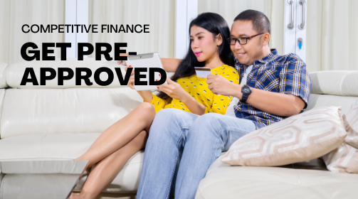 Get pre-approved finance at Salters Cars